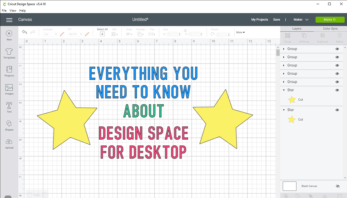 Everything you need to know about Cricut Design Space for Desktop